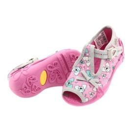 Befado children's shoes 213P120 pink silver grey 5