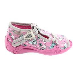 Befado children's shoes 213P120 pink grey 1
