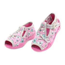 Befado children's shoes 213P120 pink grey 3