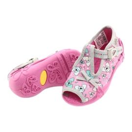 Befado children's shoes 213P120 pink grey 4