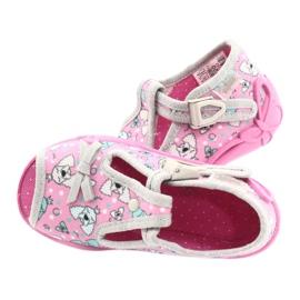 Befado children's shoes 213P120 pink grey 5
