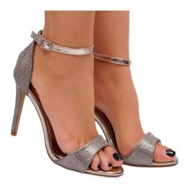 SEA Women's Gold Sandals Glitter Gold Fiver golden 3