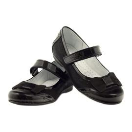 Ballerinas black bow leather Ren But 4202 3