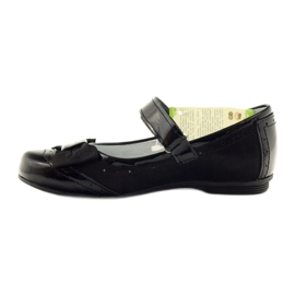 Ballerinas black bow leather Ren But 4202 2