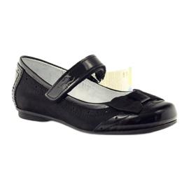 Ballerinas black bow leather Ren But 4202 1