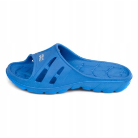 Aqua-Speed ​​Alabama slippers for children blue color 01 2