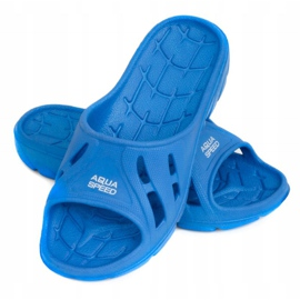 Aqua-Speed ​​Alabama slippers for children blue color 01 1