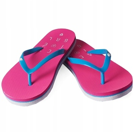 Slippers for girls 4F fuchsia HJL20 JKLD001 55S pink 1