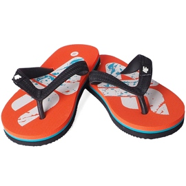 Slippers for the boy 4F multicolor HJL20 JKLM001 90S black orange 1
