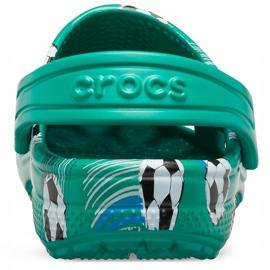 Crocs kids Classic Sport Ball Clog Ps green 206417 3TJ 4