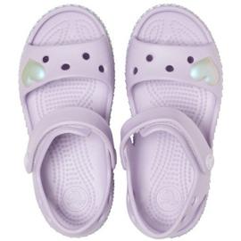 Crocs children's sandals Crocband Imagination Sandal Ps purple 206 145 530 violet 1