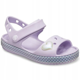 Crocs children's sandals Crocband Imagination Sandal Ps purple 206 145 530 violet 2