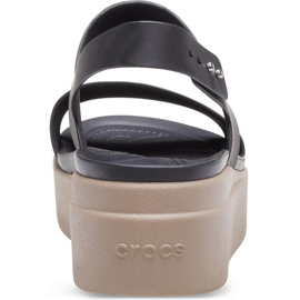 Crocs women's sandals Brooklyn Low Wedge W brown 206453 07H black 4