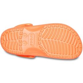 Crocs Kids Classic Vacay Vibes Clog Orange 206375 801 5