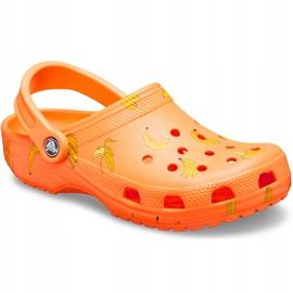 Crocs Kids Classic Vacay Vibes Clog Orange 206375 801 2