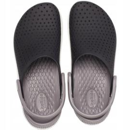 Crocs Kids LiteRide Clog Kids black and white 205 964 066 1