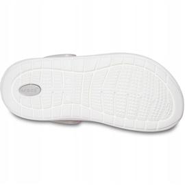 Crocs for kids LiteRide Clog Kids pink-white 205964 6QR 4