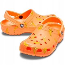 Crocs Kids Classic Vacay Vibes Clog Orange 206375 801 3