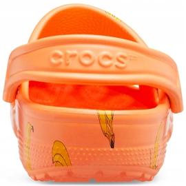 Crocs Kids Classic Vacay Vibes Clog Orange 206375 801 4