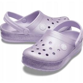 Crocs for kids Crocband Glitter Clog Kids purple 205 936 530 violet 2