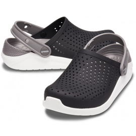 Crocs Kids LiteRide Clog Kids black and white 205 964 066 2
