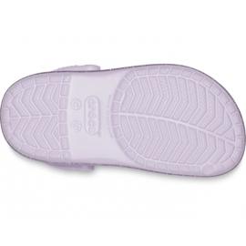 Crocs for kids Crocband Glitter Clog Kids purple 205 936 530 violet 4