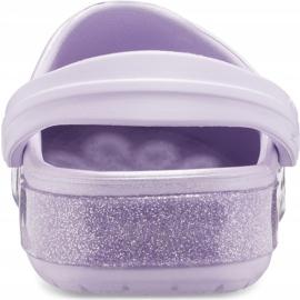 Crocs for kids Crocband Glitter Clog Kids purple 205 936 530 violet 3