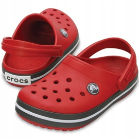 Crocs for children Crocband Clog K red-gray 204537 6IB 2