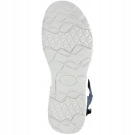 Women's sandals 4F garnet H4L20 SAD002 31S navy 2