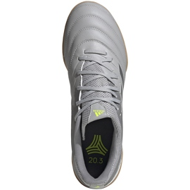 Adidas Copa 20.3 Tf EF8340 football boots grey grey 1