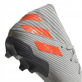 Adidas Nemeziz 19.3 Fg soccer shoes gray EF8287 grey grey 4