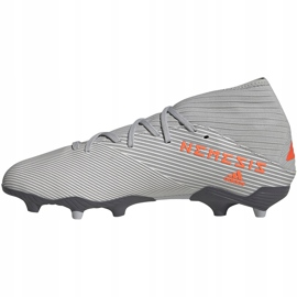 Adidas Nemeziz 19.3 Fg soccer shoes gray EF8287 grey grey 2