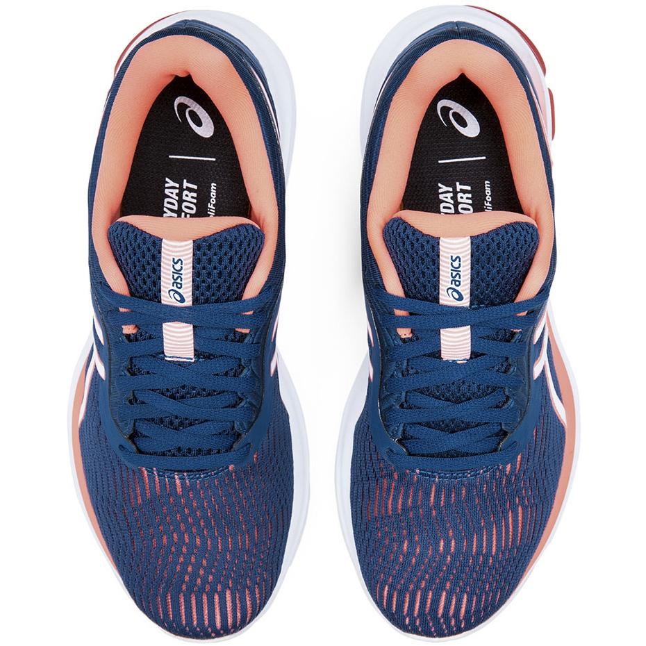 Women's running shoes Asics Gel-Pulse navy blue-peach 1012A467 401 orange