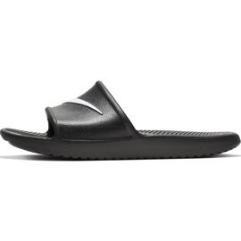 Nike Kawa Shower GS / PS black slippers BQ6831 001 2