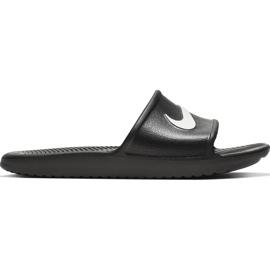 Nike Kawa Shower GS / PS black slippers BQ6831 001 3
