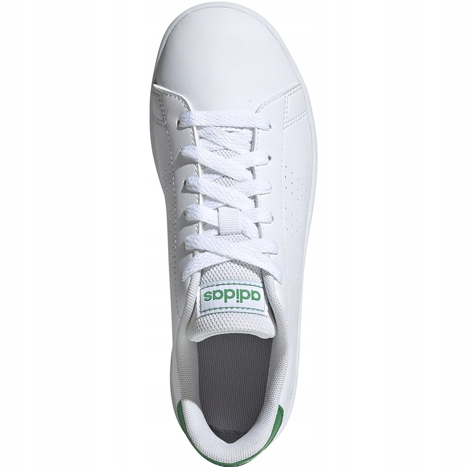 adidas white kids shoes