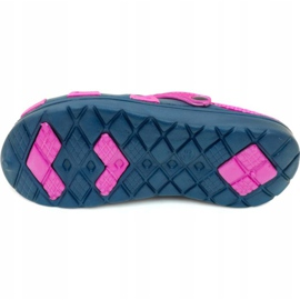 Aqua-speed Silvi children's pool slippers, col 49, pink and navy blue 3