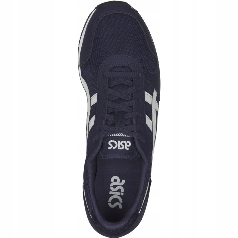 Asics Curreo Ii HN7AO-5896 men's running shoes navy blue - KeeShoes