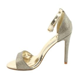 SEA Women's Gold Sandals Glitter Gold Fiver golden 4