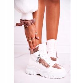 Marquiiz Women's Sport Snow Boots With Fur White Euphoria 1