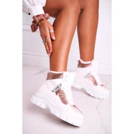 Marquiiz Women's Sport Snow Boots With Fur White Euphoria 3