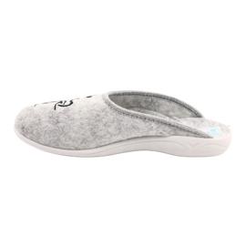 Felt Slippers Wake Up Adanex 25642 Gray black grey 1