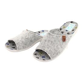 Felt slippers Adanex 25494 gray grey 2