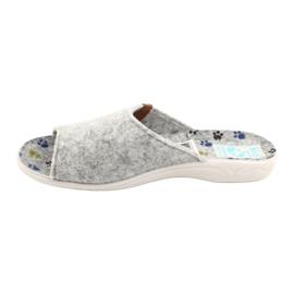 Felt slippers Adanex 25494 gray grey 1