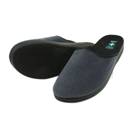 Men's Adanex 24141 slippers black blue 3