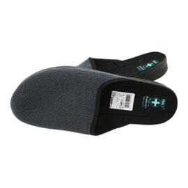 Men's Adanex 24141 slippers black blue 4