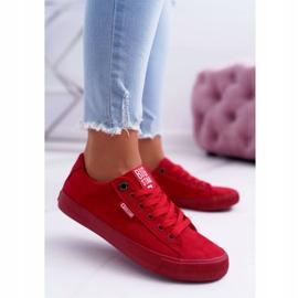 Women's Sneakers Big Star Suede Red EE274044 1