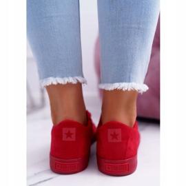 Women's Sneakers Big Star Suede Red EE274044 4