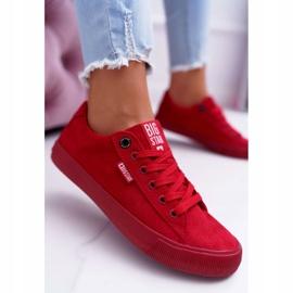 Women's Sneakers Big Star Suede Red EE274044 6