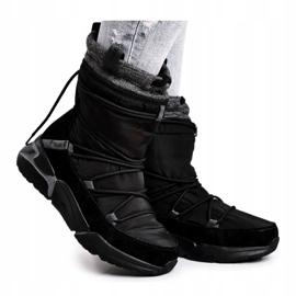 Women's snow boots Big Star Black GG274628 5